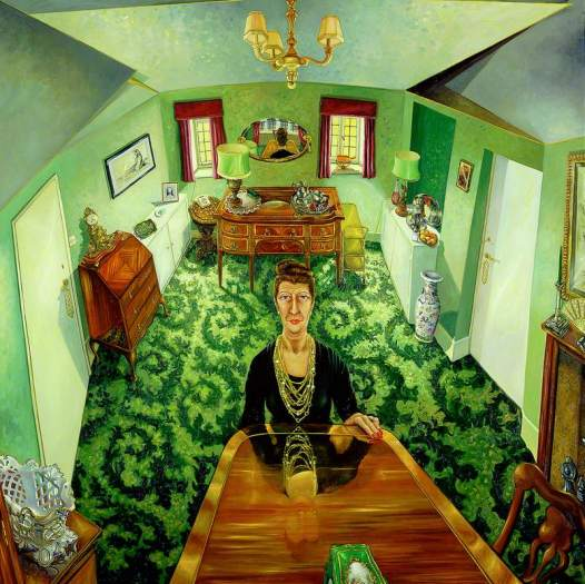 Green, Anthony, b.1939; My Mother Alone in Her Dining Room